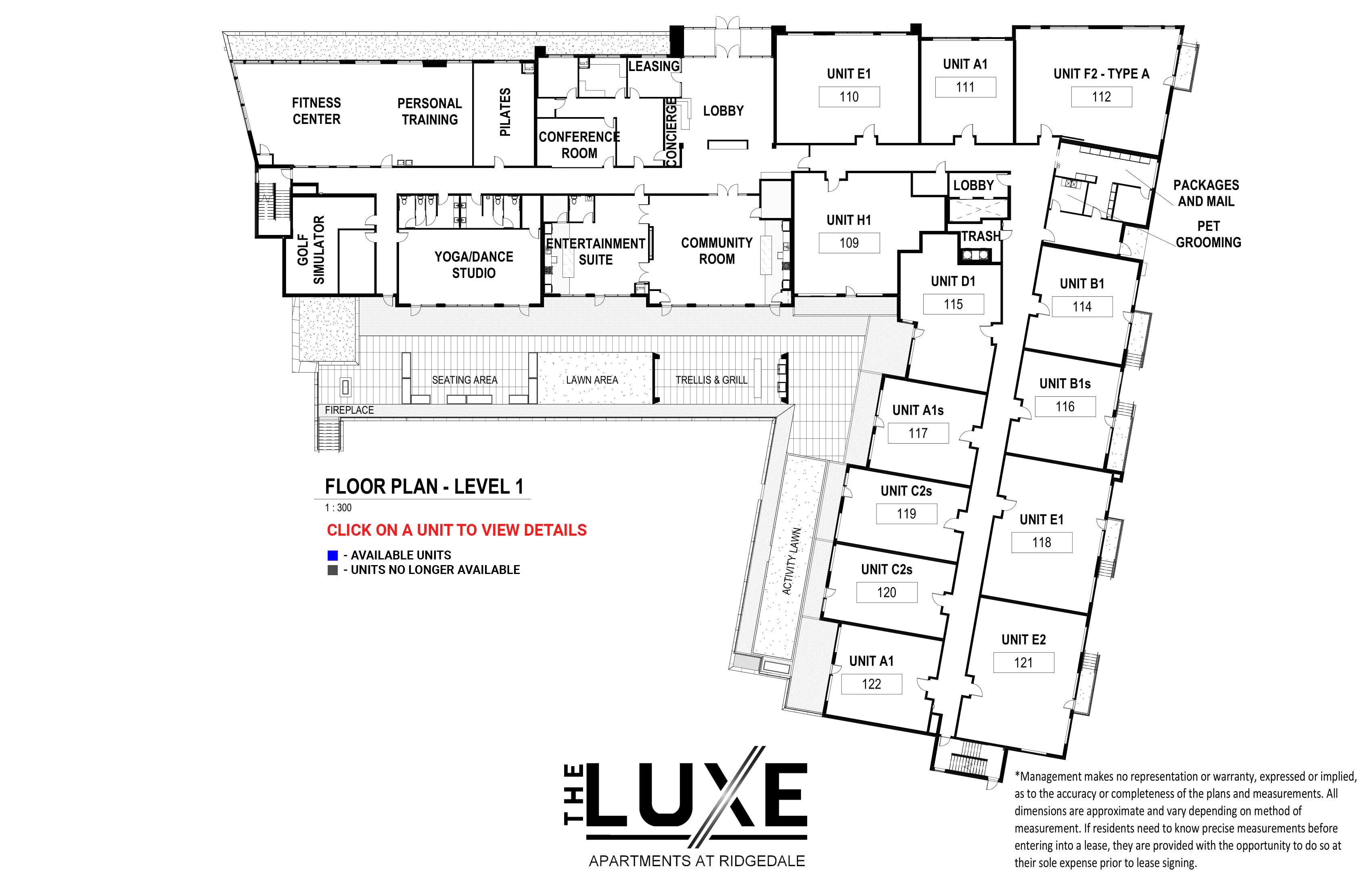Floor Plan - Level 1