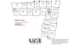 Floor Plan - Level 4